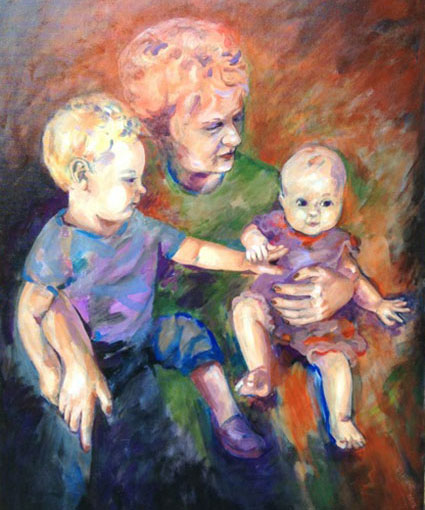 07-Patricia-Hunt-grandmother-with-grandchildren-portrait