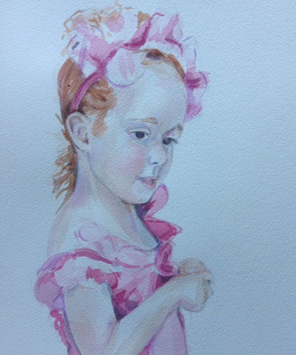 16-Patricia-Hunt-watercolour-girl-portrait